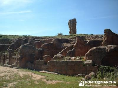 Yacimiento Arqueológico Celtibérico y Romano de Tiermes; actividades para hacer en madrid; el tall